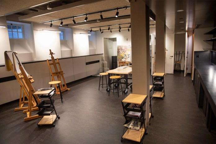 The Art Studio in Lowell House i