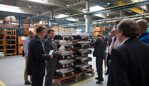 Production of plate cylinders for Heidelberg
