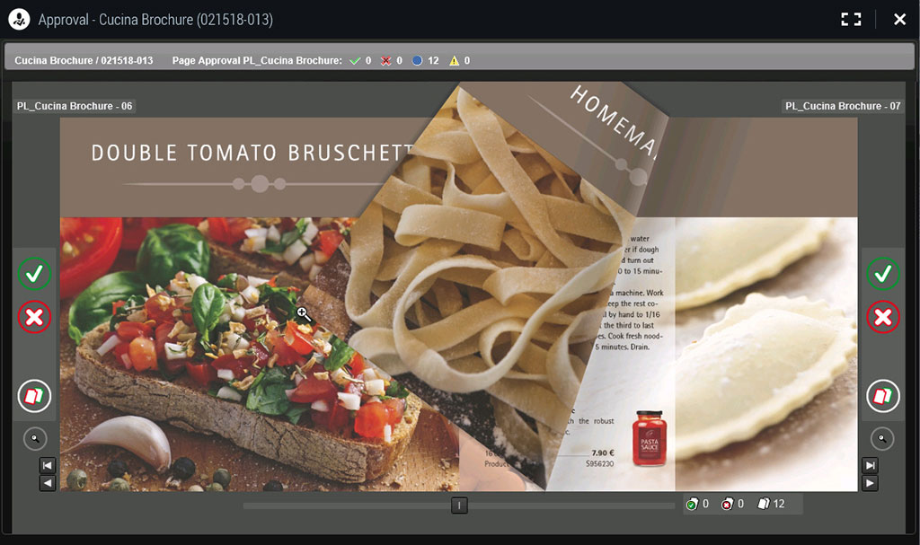 Prepress Portal Screenshot