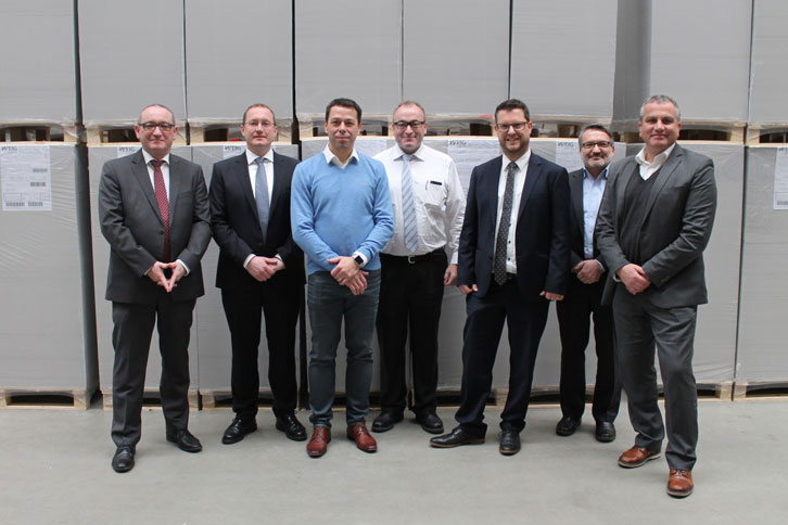 WEIG Packaging and Heidelberg Staff