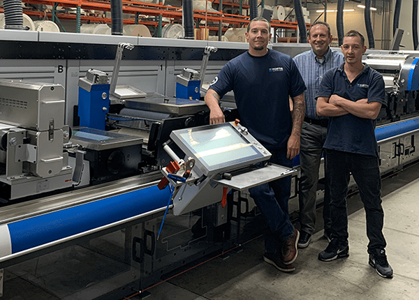 Fortis Solutions Group Facility Installs Gallus RCS 430 to Enhance Wine and Spirits Capabilities