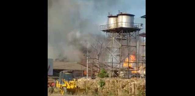 Mirip Dengan Lebanon, Pabrik Bioetanol Di Mojokerto Meledak