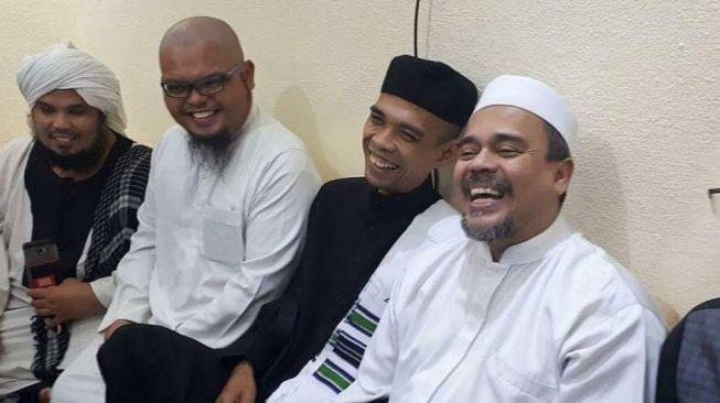 Habib Rizieq Shihab dan Ustadz Abdul Somad