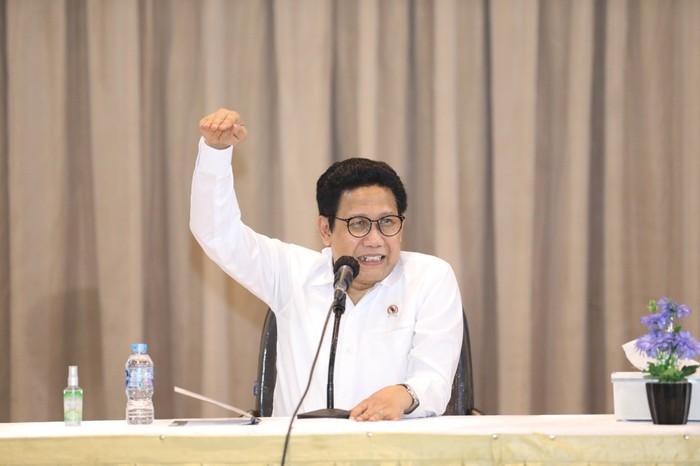 Foto: Kemendes PDTT: Menteri Desa, Pembangunan Daerah Tertinggal dan Transmigrasi Abdul Halim Iskandar/Detik.com