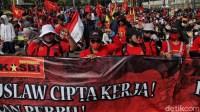 Demo Tolak Omnibus Law Belum Kelar, Buruh Ancam Lagi Aksi yang Besar