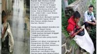Alhamdulillah..!! Foto Viral Remaja Pemulung Yang Mengaji Depan Toko, Dapat Pertolongan Dari Pesantren Al-Hilal Bandung