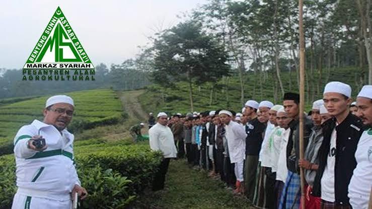 Di Megamendung, HRS Ajarkan Santri Berkebun, Bukan Membuat Perkebunan