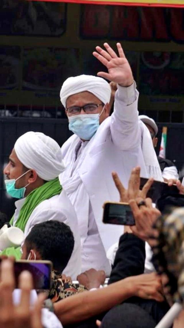 Habib Rizieq: Negara Tak Usah Buat Masalah, Saya Pulang Bukan untuk Bikin Gaduh