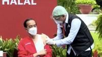 Jokowi Hingga Raffi Ahmad Hanya Merasa Pegal-pegal Usai Divaksin