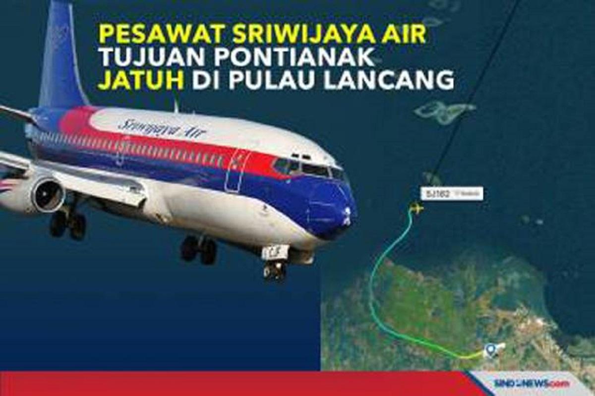 Avsec Selidiki Dugaan 2 Penumpang Sriwijaya Air SJ1812 Pakai KTP Palsu