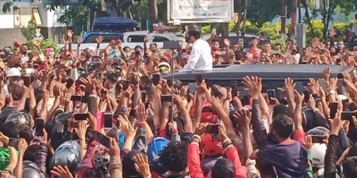 Wajar Bareskrim Tolak Laporan Kerumunan Jokowi Di Maumere