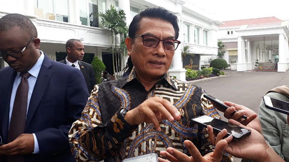 Media Asing Prediksi Indonesia Bebas Corona 10 Tahun Lagi, Moeldoko: Berlebihan, Belajar Dulu Sini