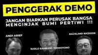 Bantah SBY Jadi Dalang Demo, Politisi Demokrat: Peluang 3 Periode Aja Beliau Tolak kok