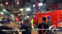 Viral Warung Pecel Lele Pinggir Jalan Didatangi Aparat, Langsung Jadi Tontonan Warga