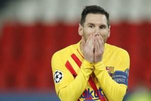 Messi'PK missed ', 바르셀로나 UCL 8 강 진출 실패
