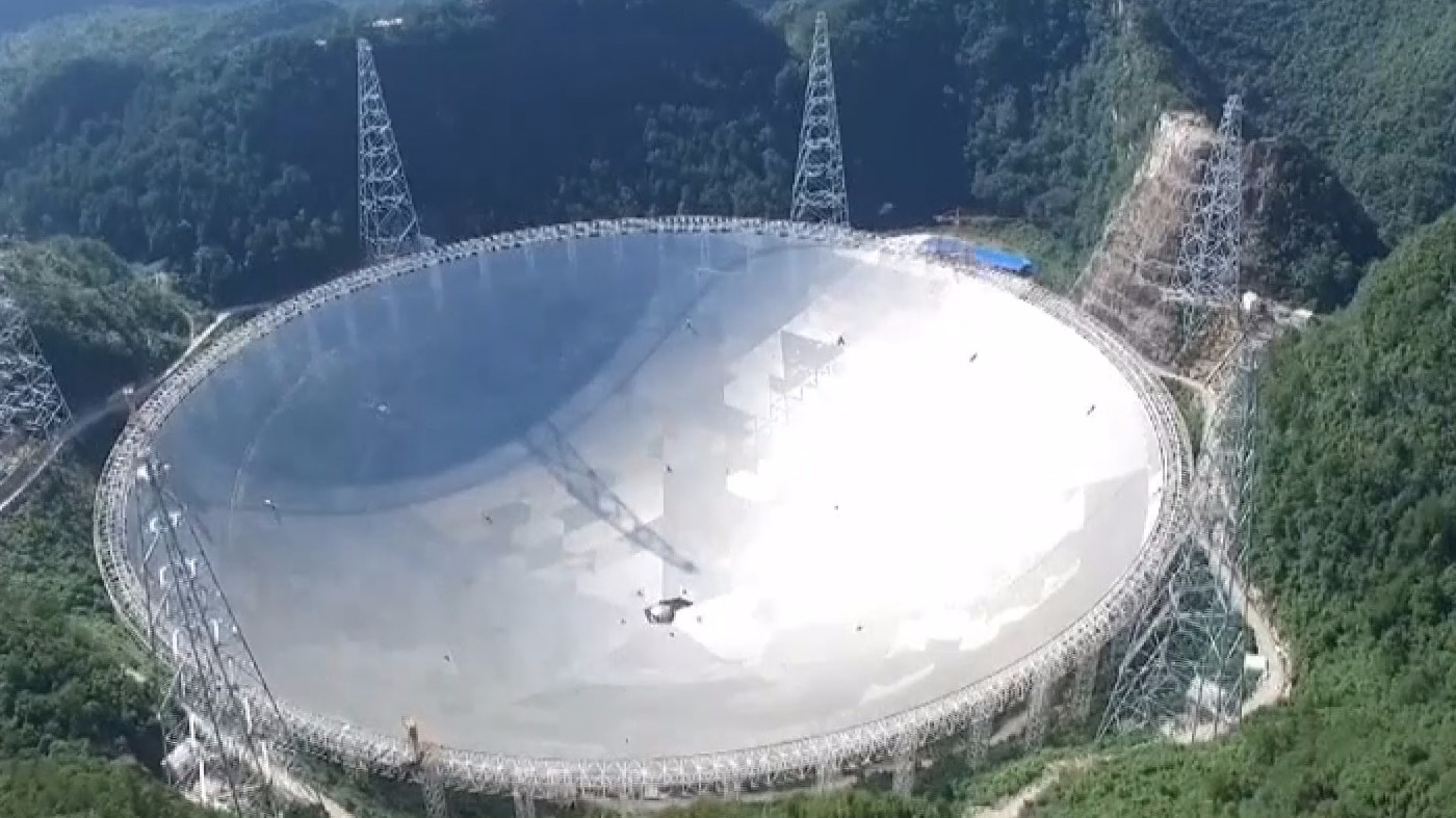 World S Largest Telescope Begins Search For Alien Life