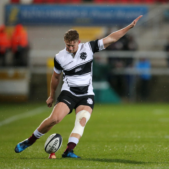 The Barbarians' Robert du Preez.
