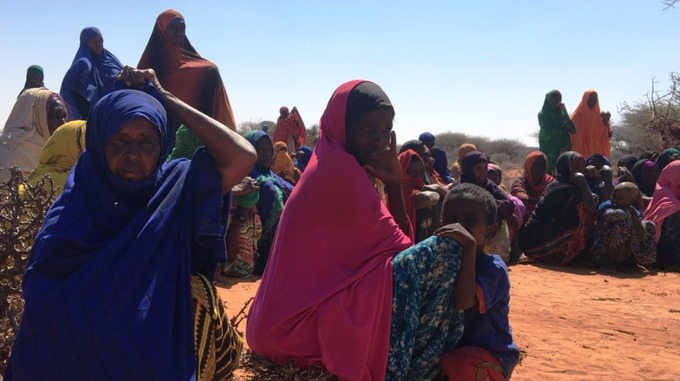 Displaced communities are praying for rain to fall in the next couple of weeks.