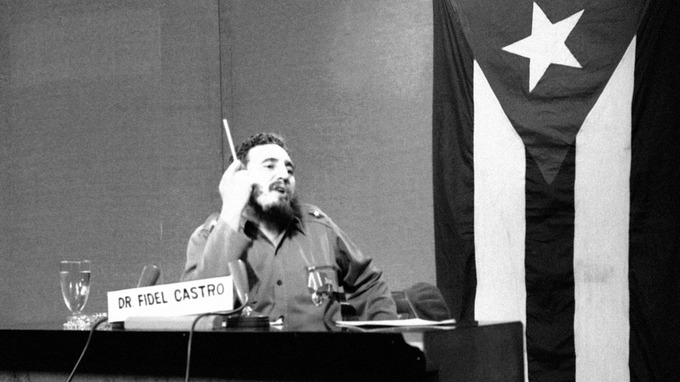 Fidel Castro, seen in 1963, was a target for the Kennedy administration.