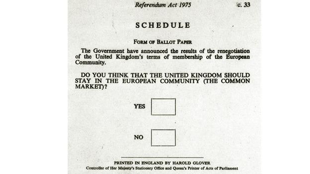 1975 referendum paper