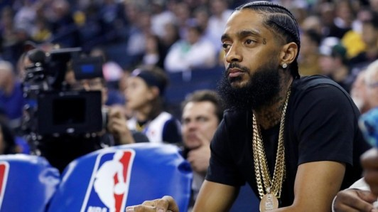 Image result for Tribute as Los Angeles rapper, Nipsey Hussle shot dead
