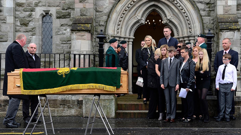 Guard Honour Funeral