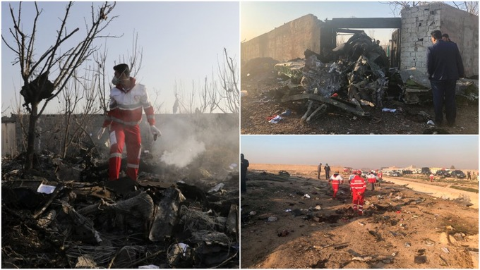 Ukrainian Airliner Crashes After Take Off In Iran, Killing All 176 Aboard