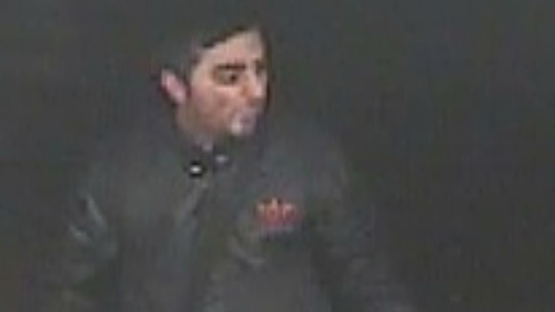 CCTV Image of suspected attacker