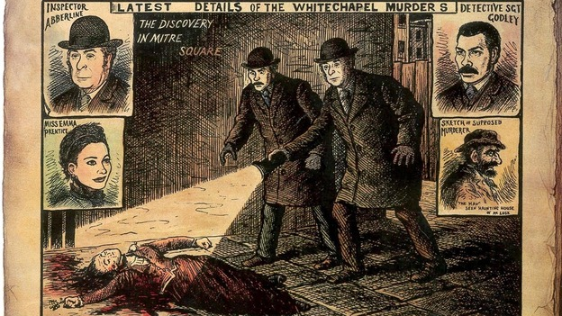 Image result for jack the ripper newspaper