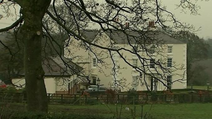 One of 11 Bryn Alyn homes owned by John Allen
