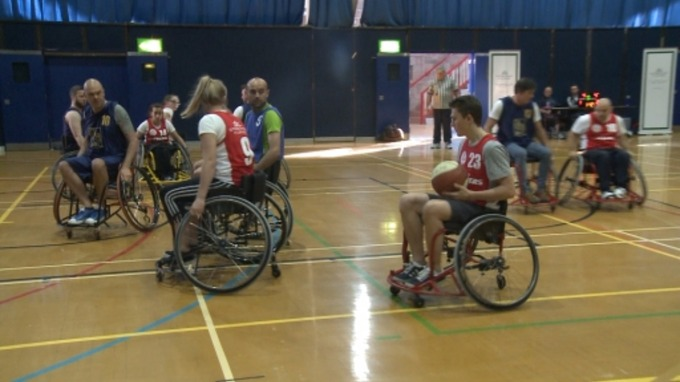 Local athletes make Disability Games a success