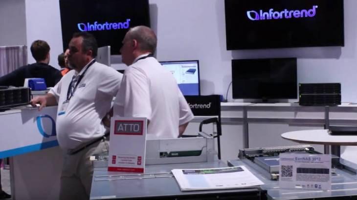 EonStor DS 4000 Gen2 оптимизировано под нужды приложений VOD