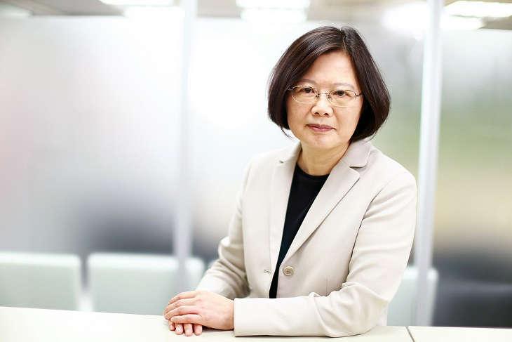 Президент Тайваня призвала к сотрудничеству с партией Гоминьдан