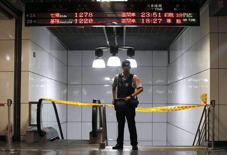 Взрыв в тайваньской электричке и развитие событий