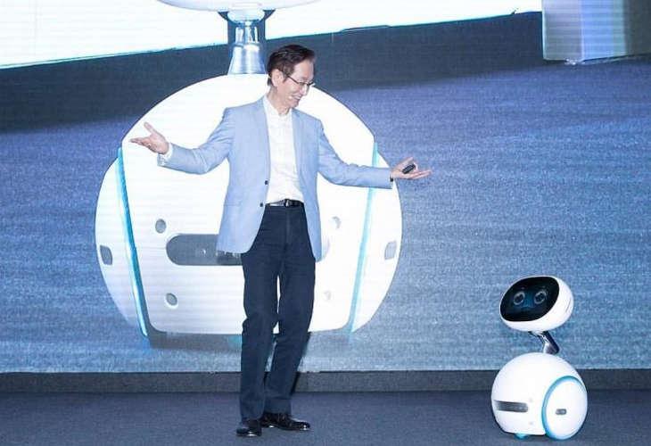Домашний робот Zenbo от компании ASUS