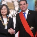 Цай Инвэнь провела встречу с президентом Гватемалы Джимми Моралесом