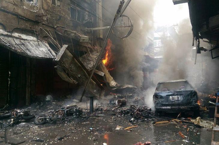 Взрыв в Тайчжуне