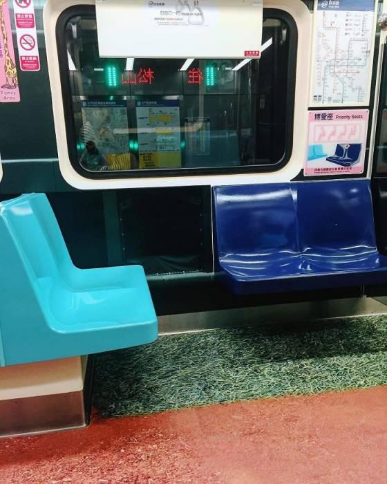 Вагоны метро Тайбэя стали спортивной площадкой грядущей Универсиады