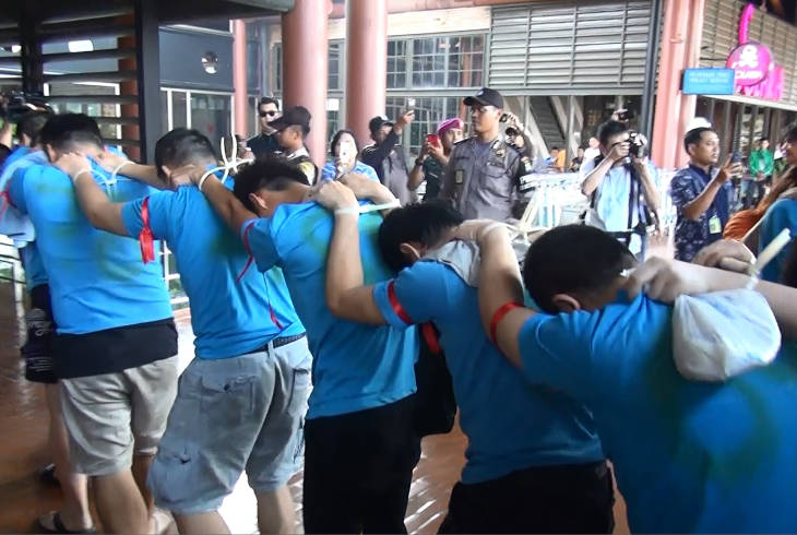 Арестованных тайваньцев снова депортируют в Китай