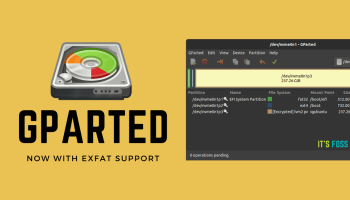 GParted New version release
