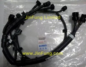 Kobelco,82121-E0301,Hino J08 wiring harness