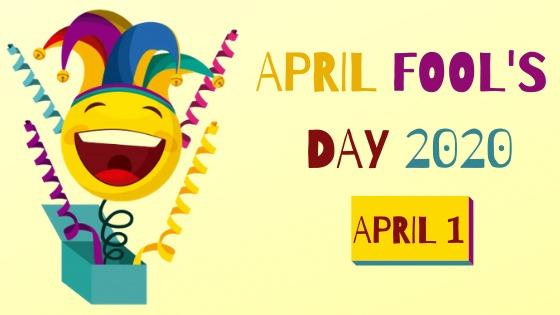 April Fools Day 2020