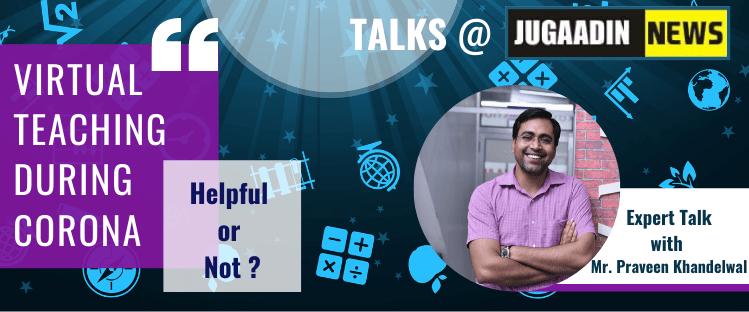 Talk at Jugaadin News Praveen khandelwal