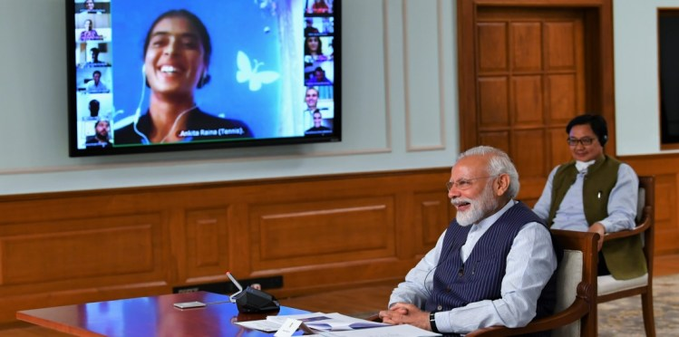 Video Conferencing with sports persons