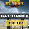 GOVERNMENT BANS 118 MOBILE APPLICATIONS INCLUDING PUBG APP