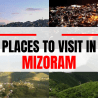 Tourist places in mizoram