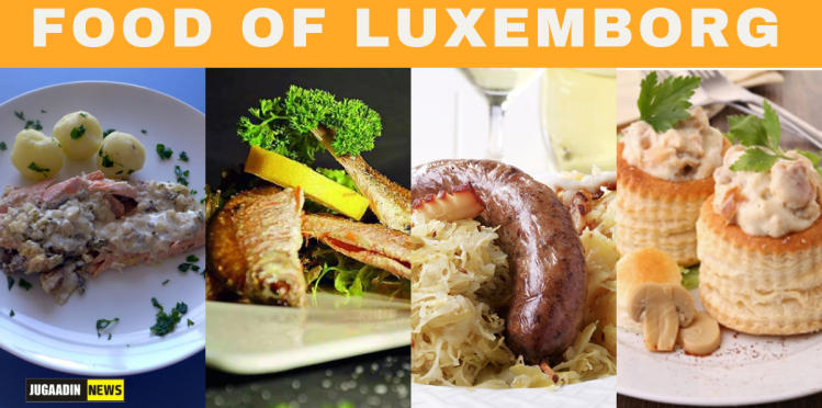 food of luxembourg