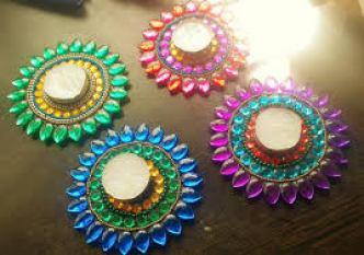 Types of Diya Decoration