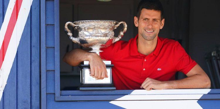 Australian open 2021 Novak win