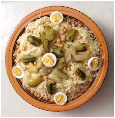 Famous dishes of Algeria